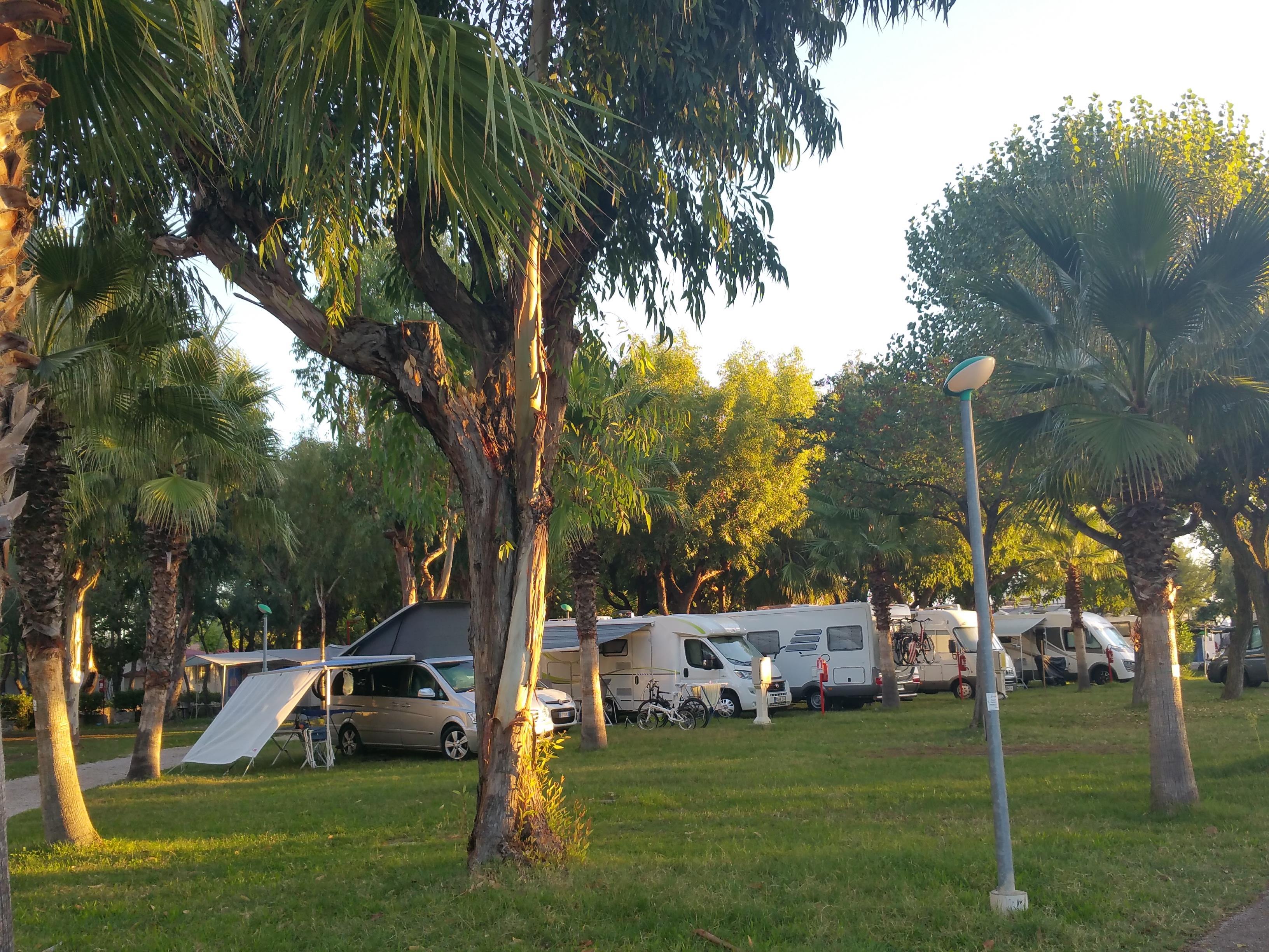 Emplacement - Emplacement + 1 Voiture + Tente, Caravane Ou Camping-Car + Électricité 6A - Camping Village Eurcamping