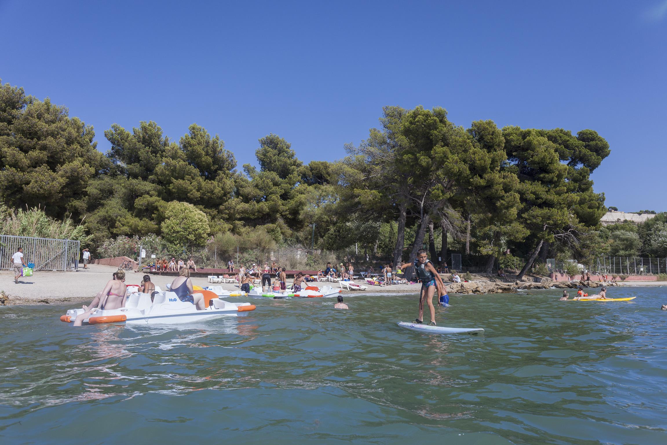 Camping Marina Plage, Vitrolles, Bouches-du-Rhône