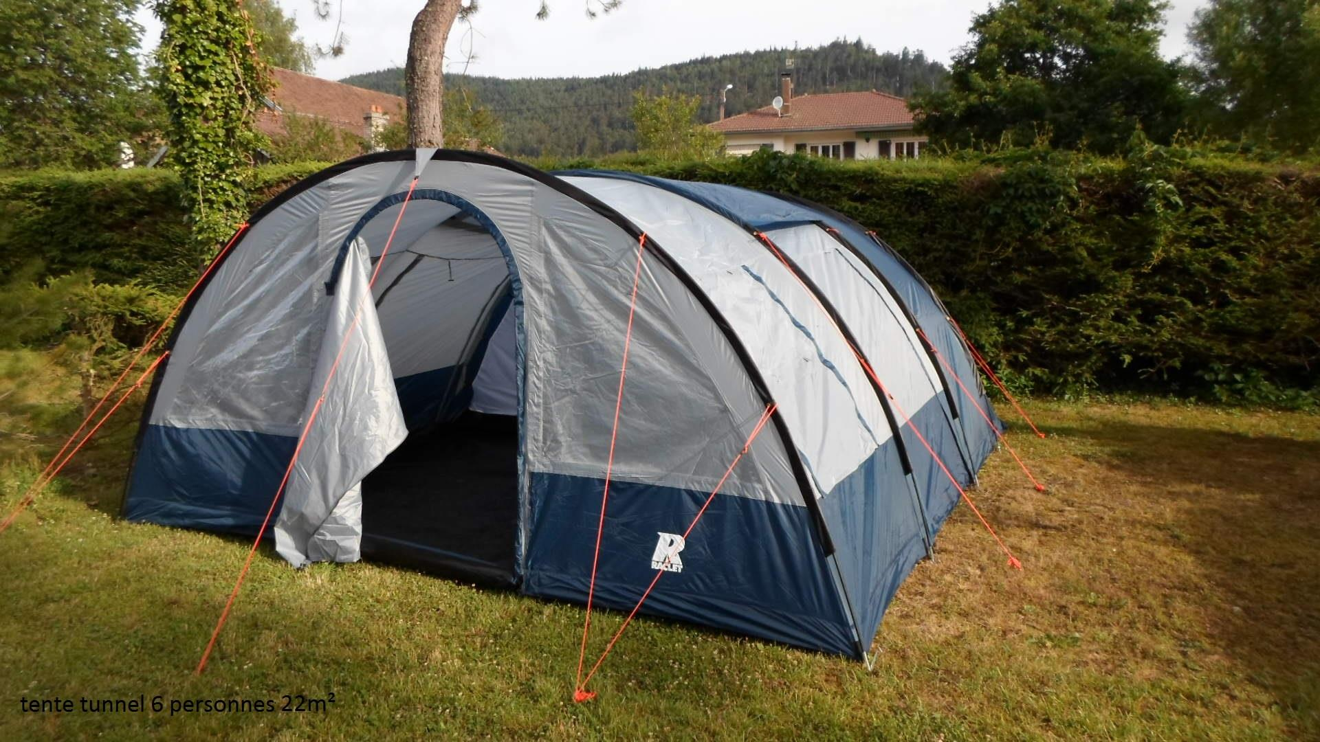 Tent  (Without Toilet Blocks)