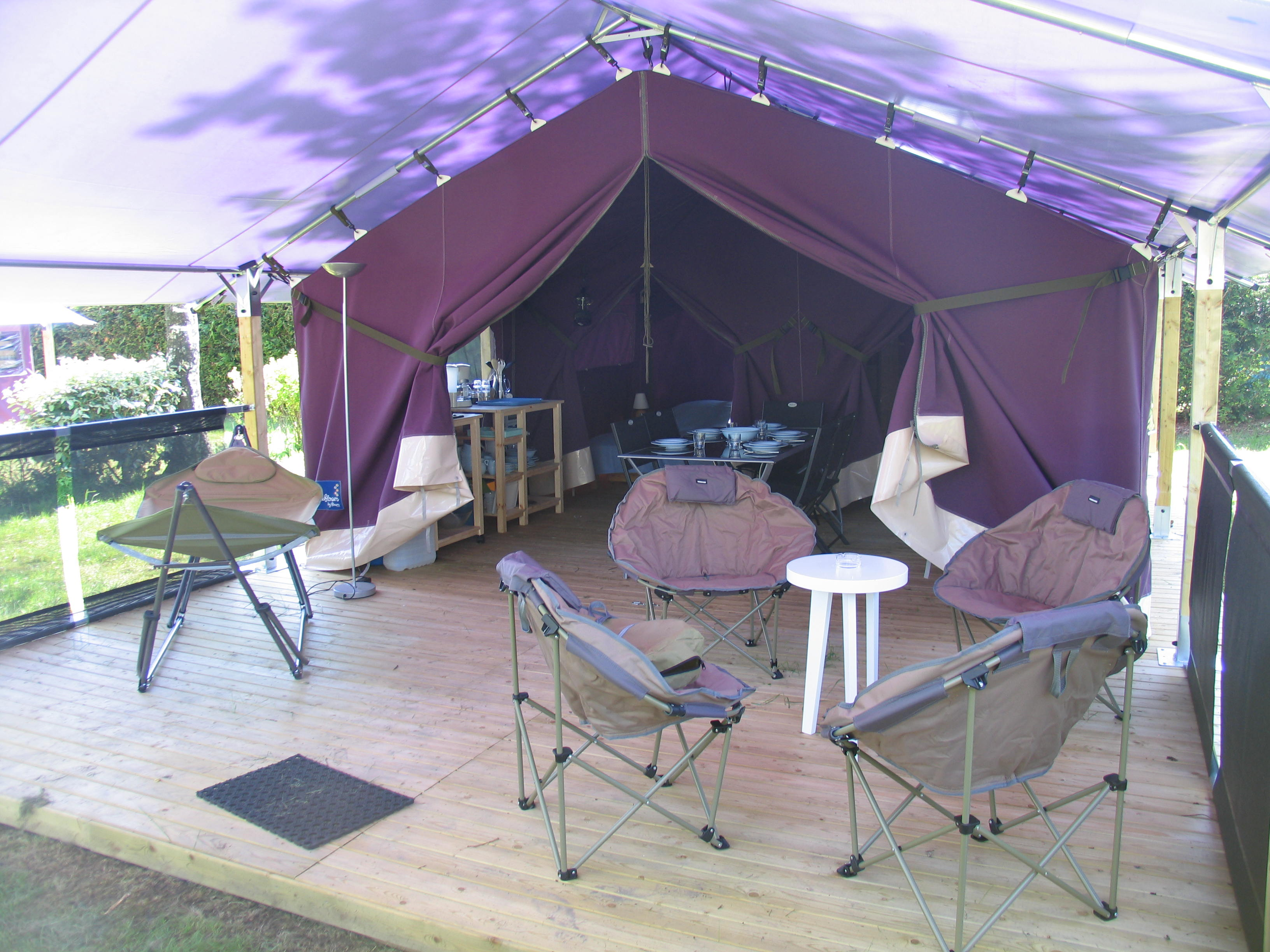 Location - Tente Lodge 'Freelife' 5P 2 Ch ** - Yelloh! Village Camping de la Baie de Douarnenez