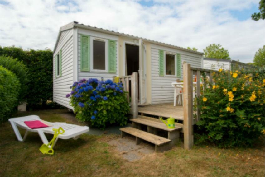 Location - Cottage 'Mandarin' 2 Chambres ** - Yelloh! Village Camping de la Baie de Douarnenez