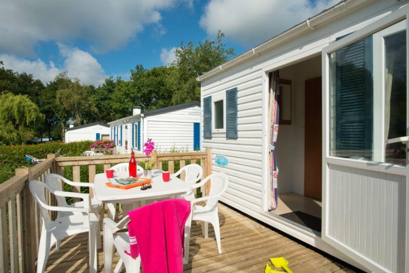 Location - Cottage 'Mésange' 2 Chambres *** - Yelloh! Village Camping de la Baie de Douarnenez