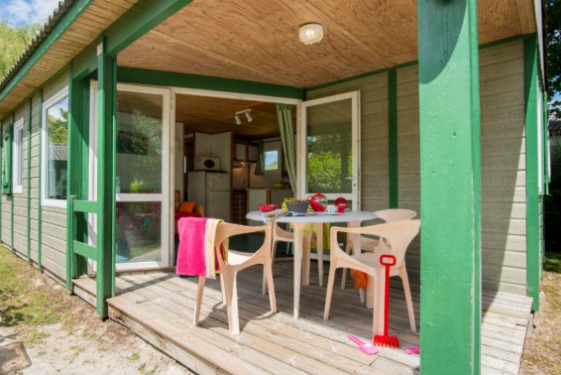 Location - Chalet 'Pic Vert' 2 Chambres ** - Yelloh! Village Camping de la Baie de Douarnenez