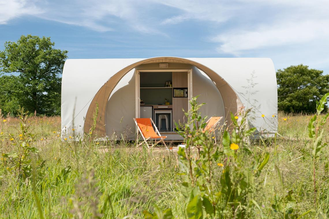 Location - Tente 'Coco Sweet' 1 Chambre ** - Yelloh! Village Camping de la Baie de Douarnenez