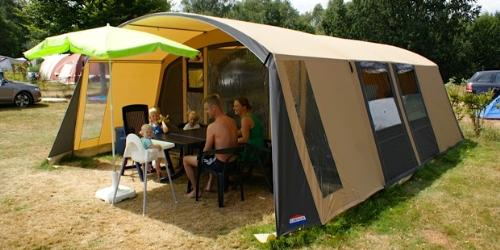 Tunnel Tent 44 M2 With Awning