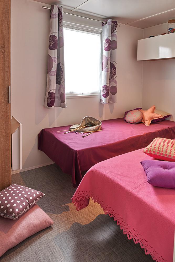 Location - Mobil Home Confort 8 Personnes - Camping Landes Bleues