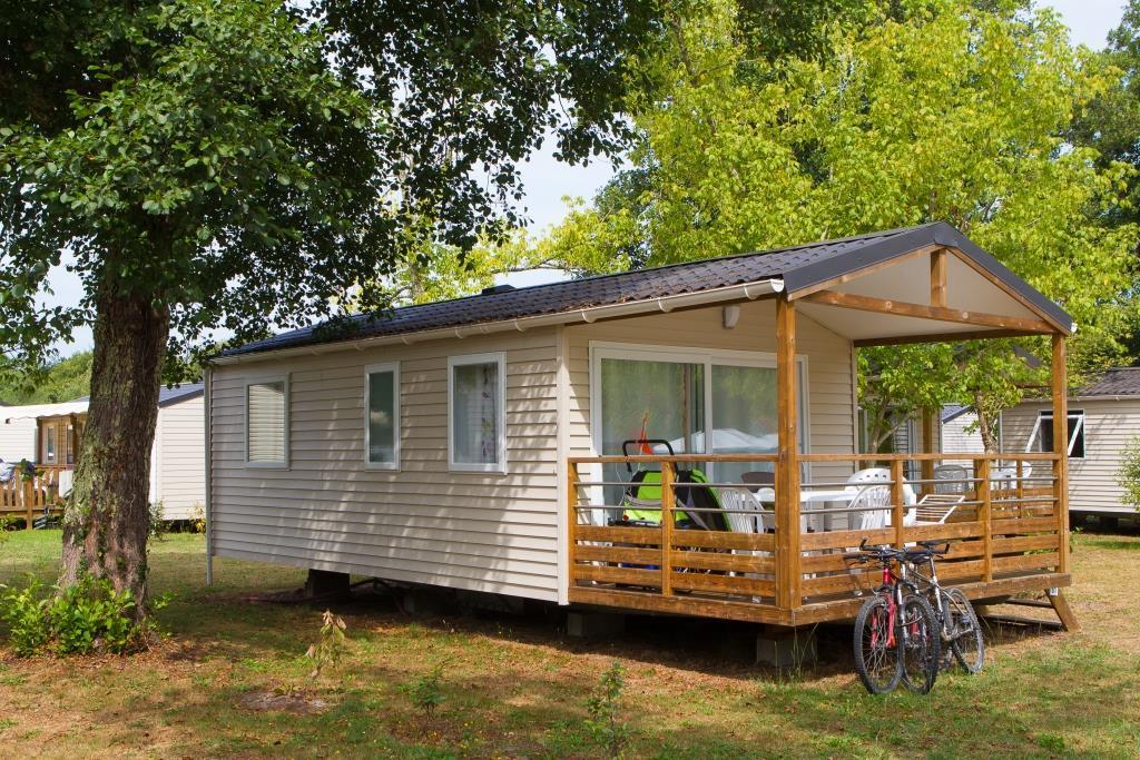 Location - Mobil Home Confort 4 Personnes - Camping Landes Bleues