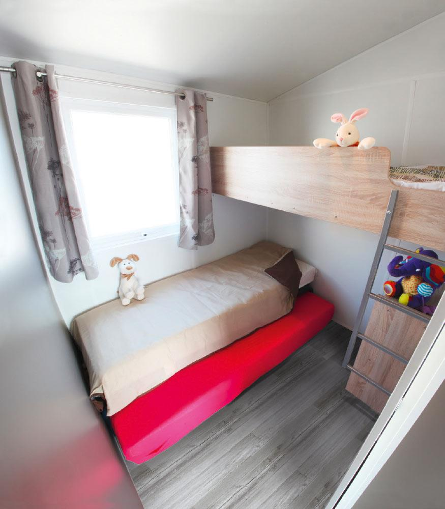 Location - Tithome 2 Chambres - Camping Landes Bleues