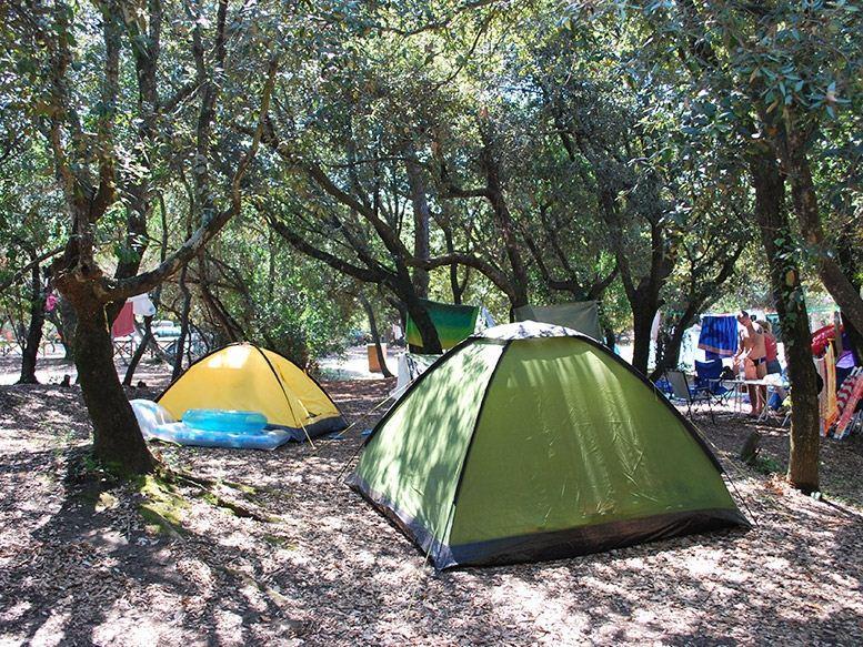 Emplacement - Emplacement Tente - Camping Internazionale di Castel Fusano