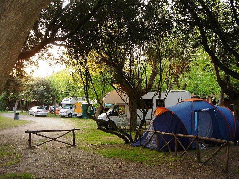 Emplacement - Emplacement Caravane - Camping Internazionale di Castel Fusano