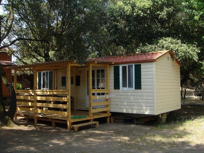 Location - Bungalow C - Camping Internazionale di Castel Fusano