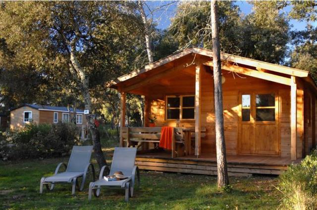 Location - Cabane En Bois - 2 Chambres - Camping Du Domaine de Massereau