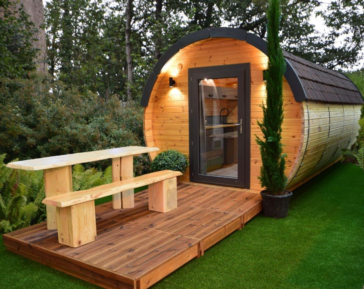 Location - Tonneau La Tourie - Suite Parentale - Camping Du Domaine de Massereau