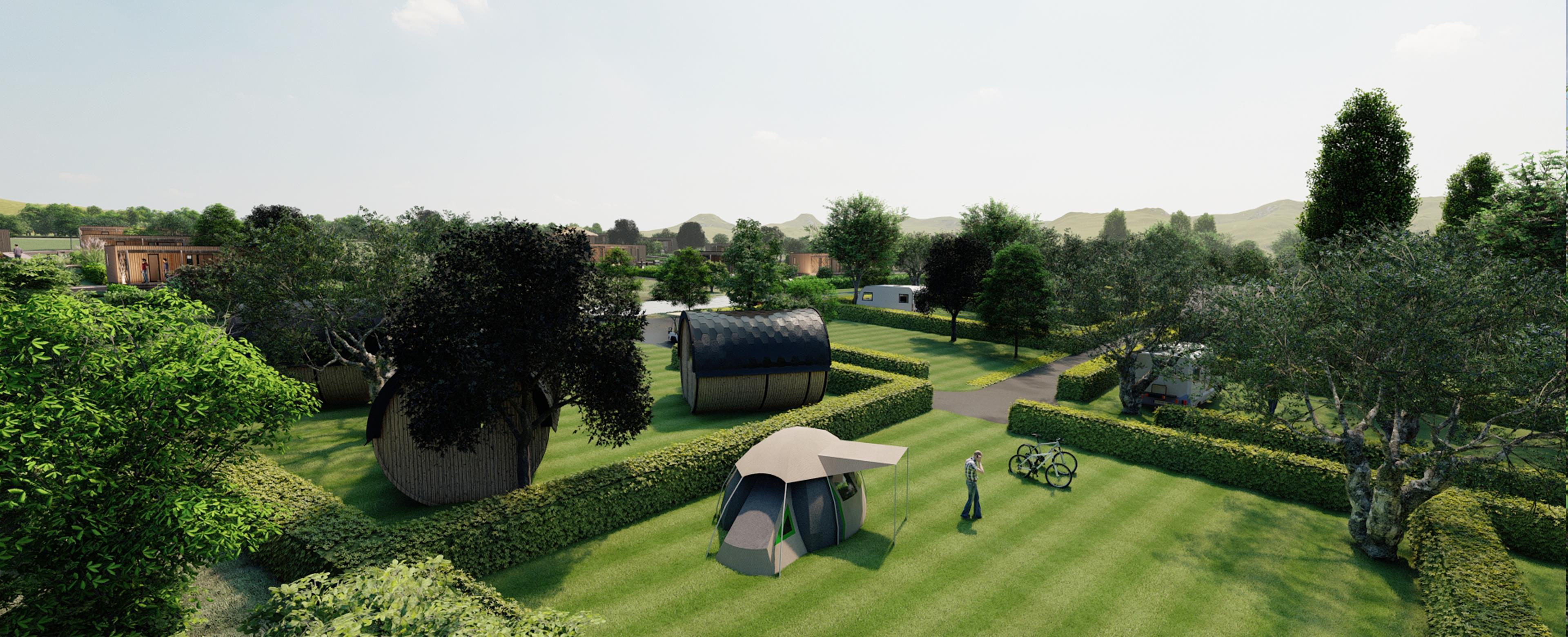 Emplacement - Emplacement De Camping Luxe - Camping Du Domaine de Massereau