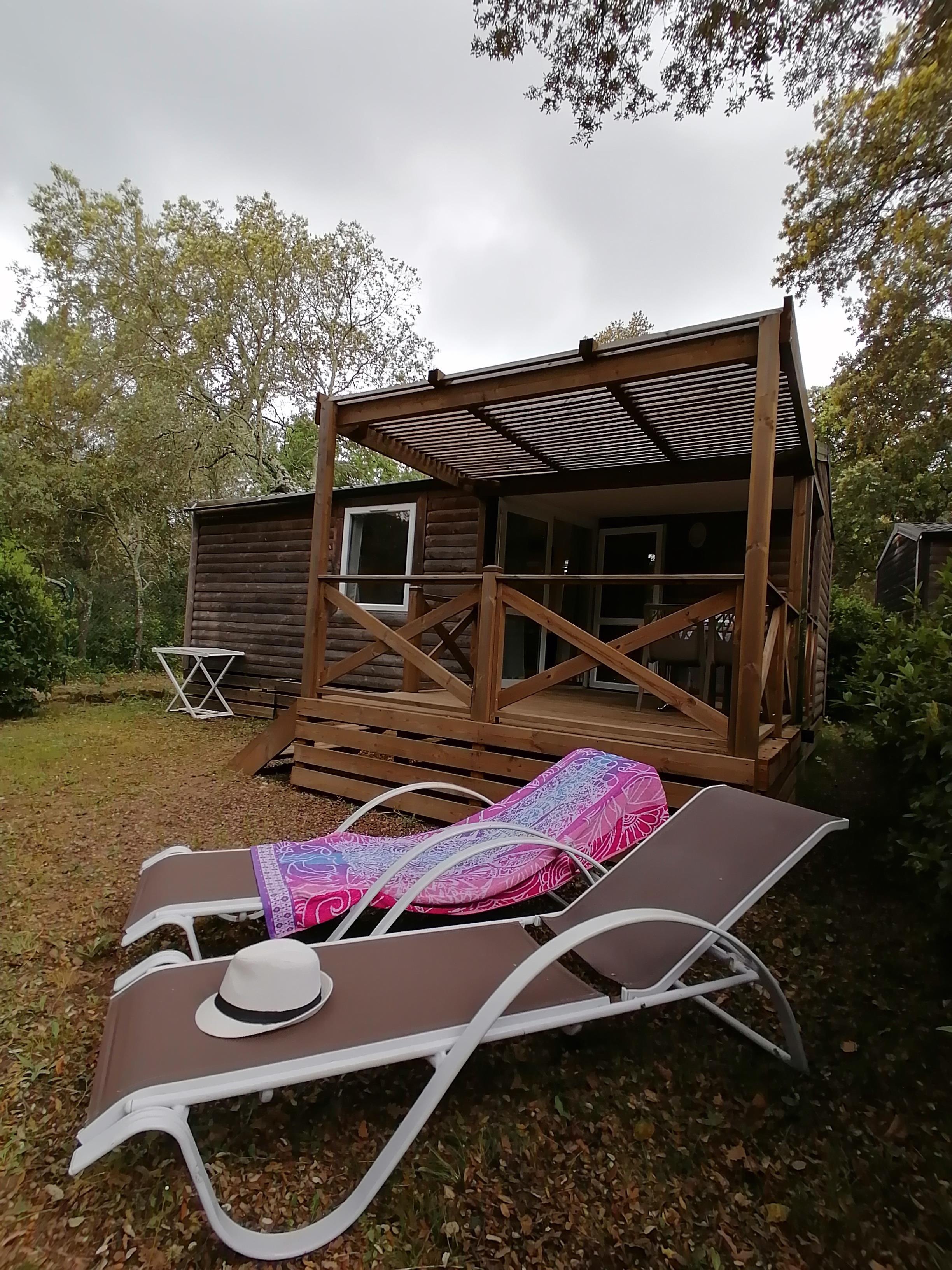 Location - Mobil-Home Détente - 2 Chambres - Camping Du Domaine de Massereau