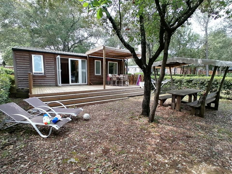 Location - Mobil-Home Détente - 3 Chambres - Camping Du Domaine de Massereau