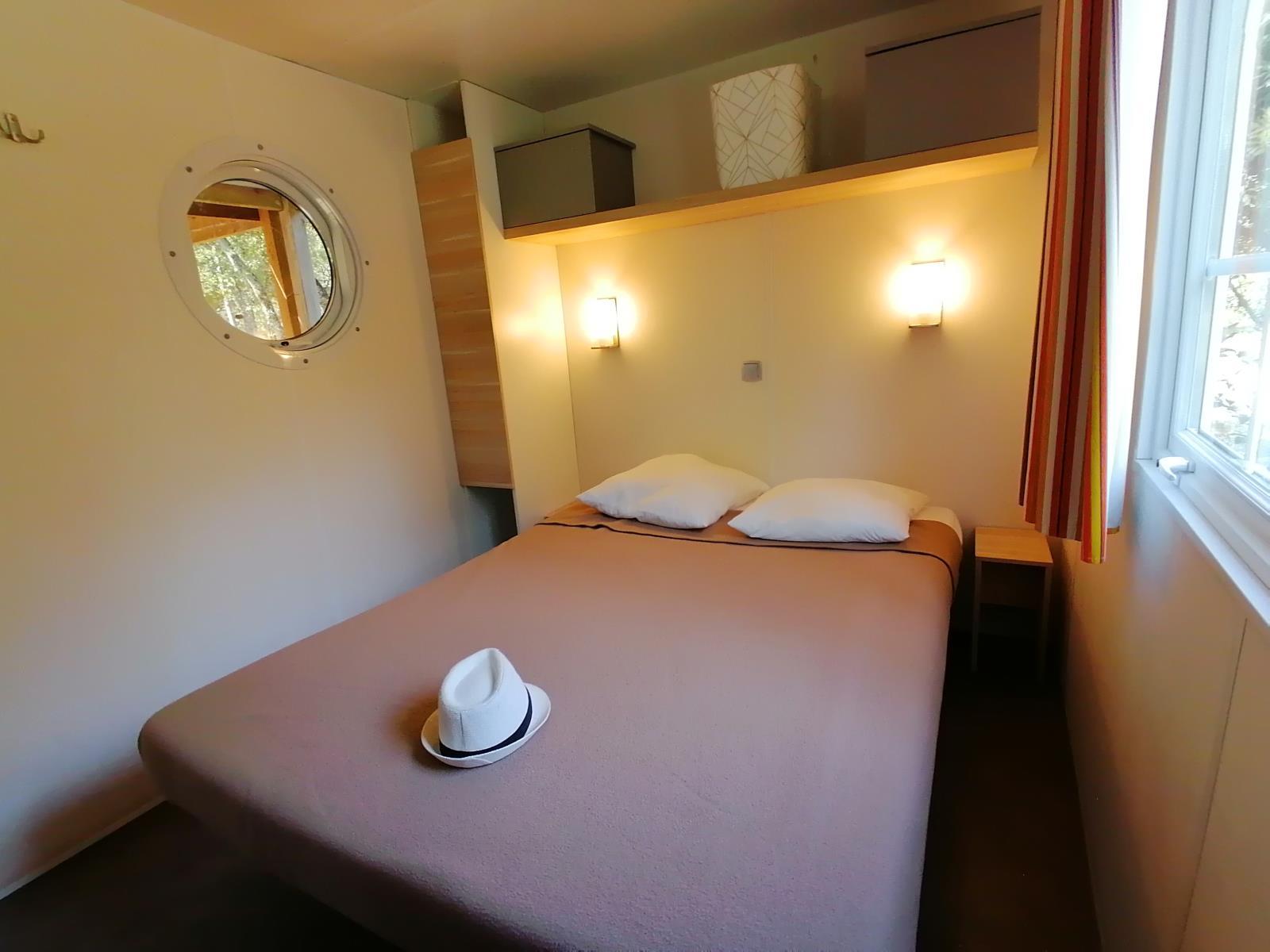 Location - Mobil-Home Héritage Premium - 2 Chambres - Camping Du Domaine de Massereau