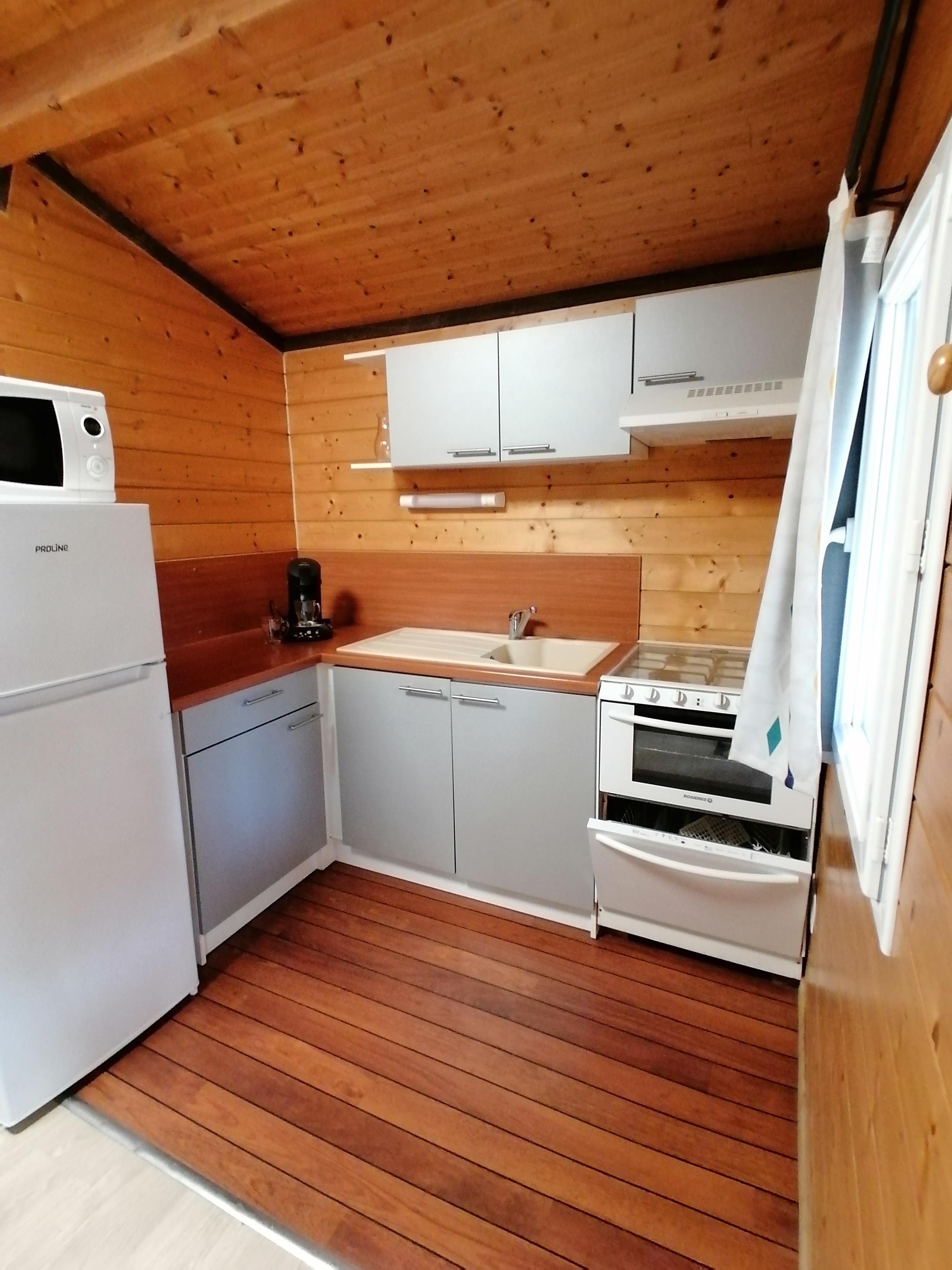 Location - Chalet - 2 Chambres - Camping Du Domaine de Massereau