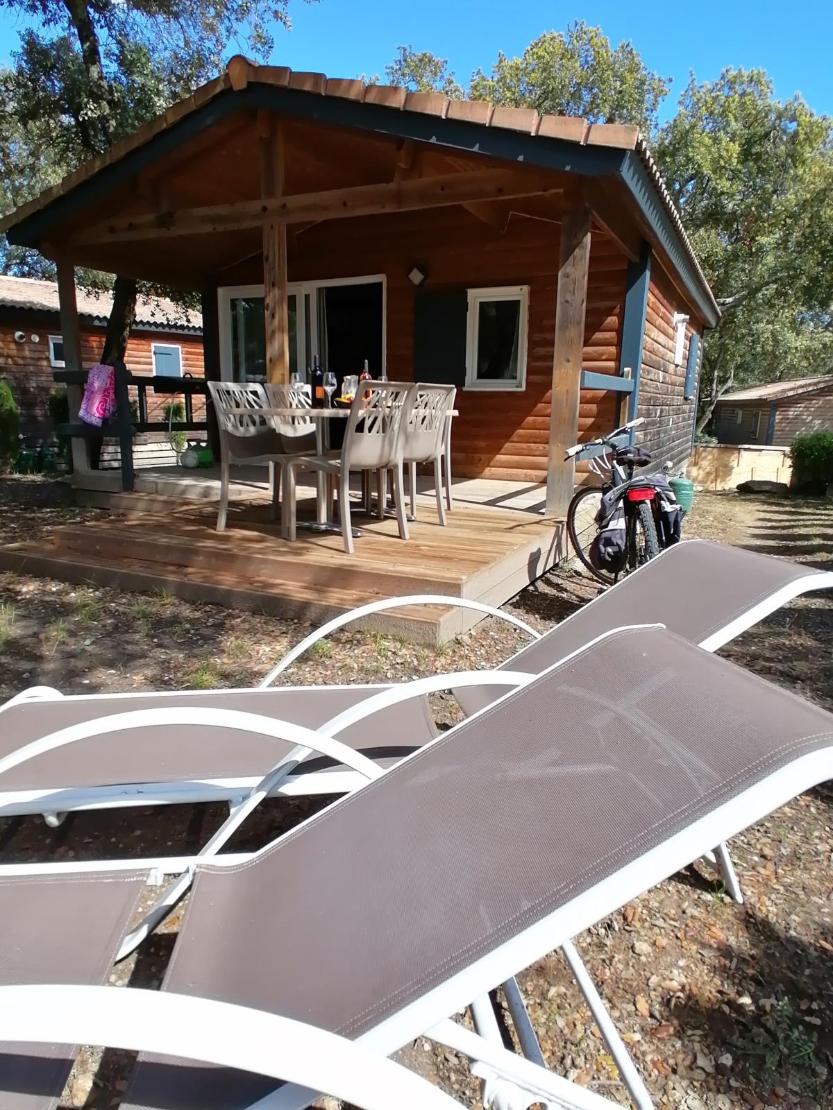 Location - Chalet Premium - 2 Chambres - Camping Du Domaine de Massereau
