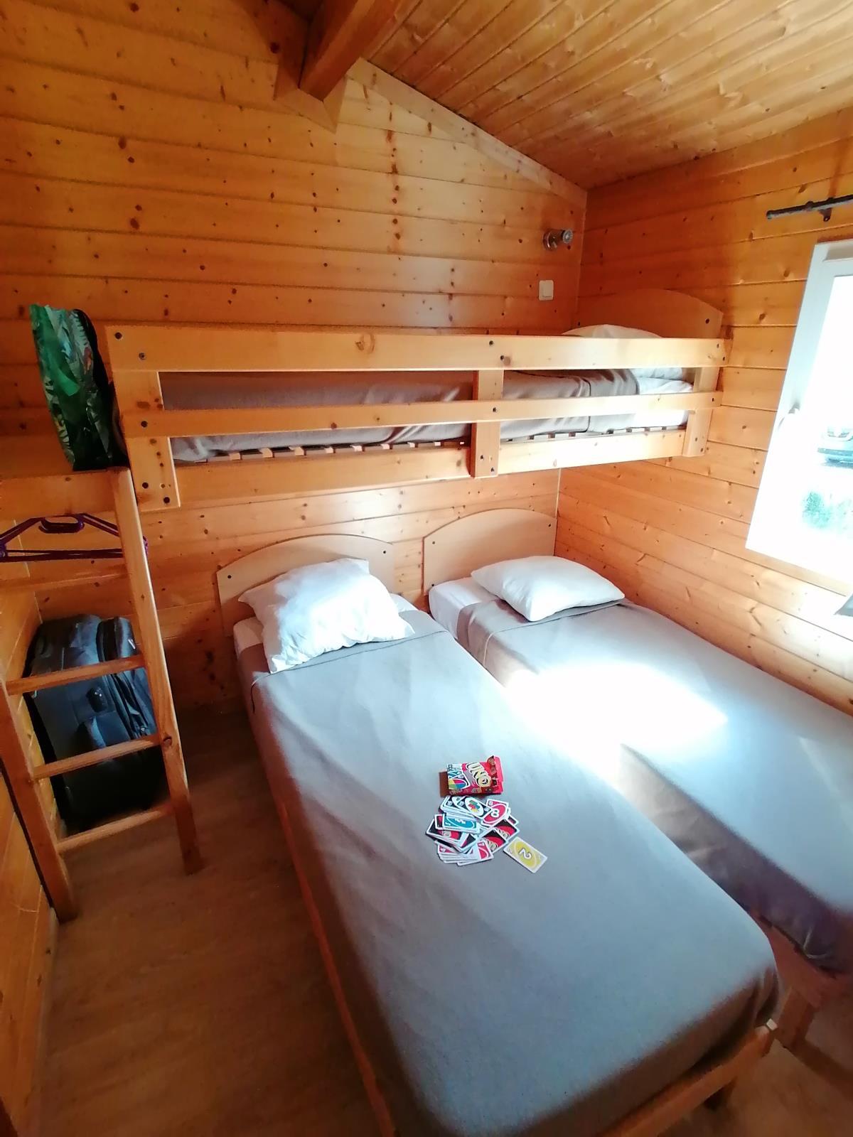 Location - Chalet Premium - 3 Chambres - Camping Du Domaine de Massereau
