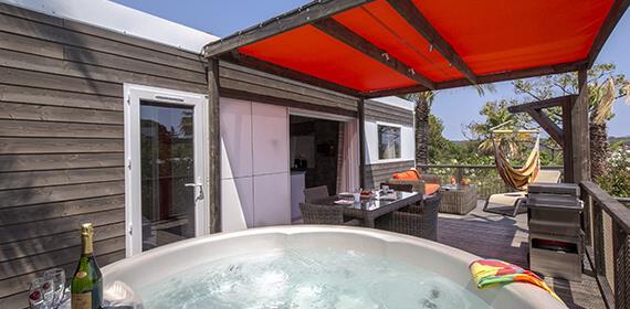 Location - Cottage Cancun Premium - 2 Chambres, 2 Salles De Bain - Domaine du Colombier