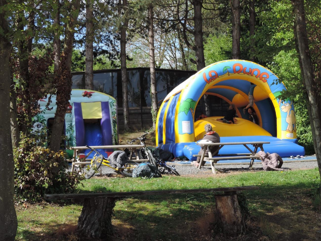 Camping l'Escapade, Cahagnolles, Calvados