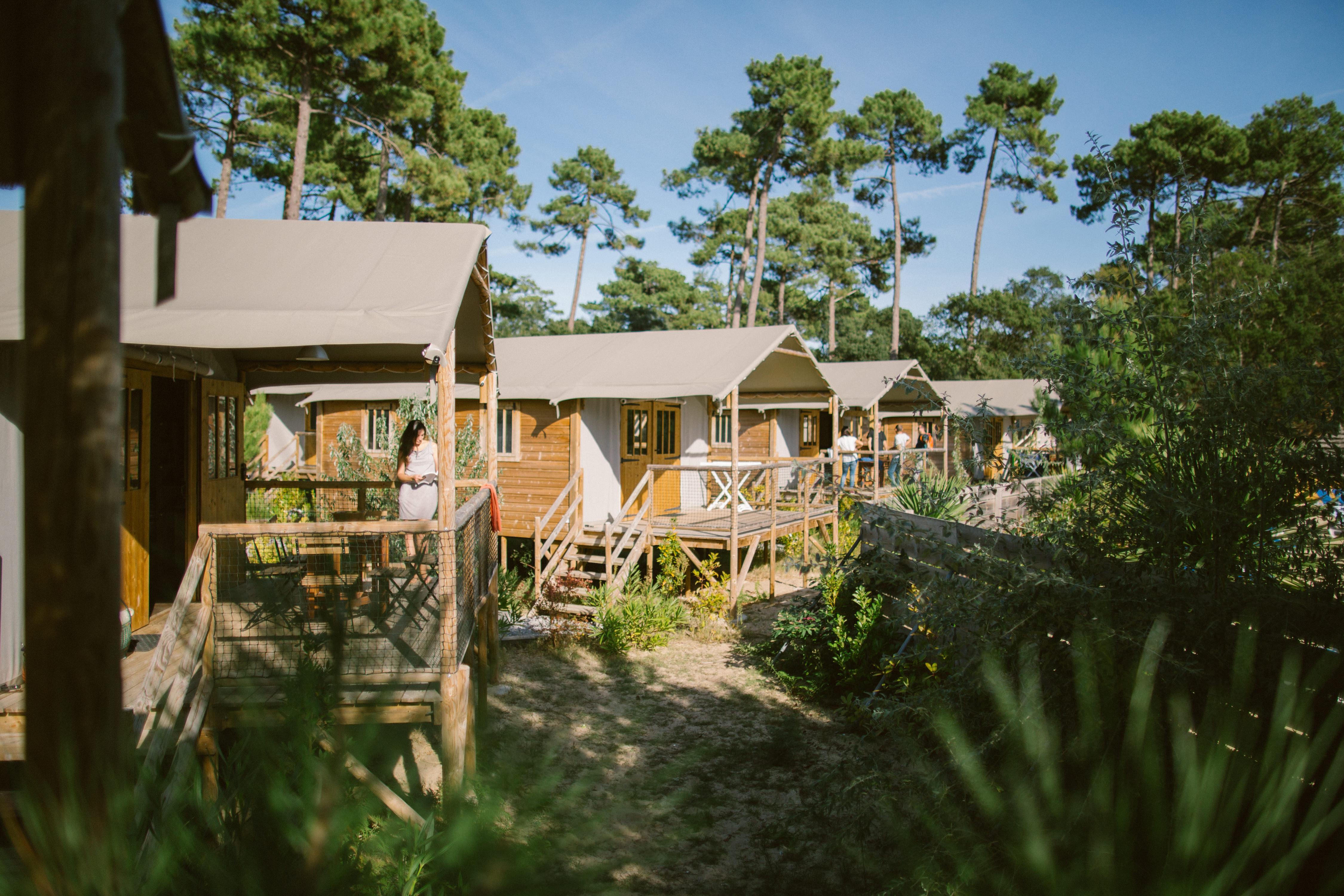 Camping Village Naturéo, Seignosse, Landes