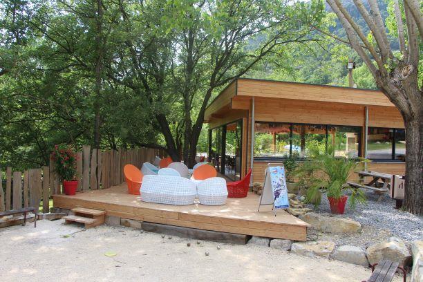 Camping les Castors, Pierrelongue, Drôme