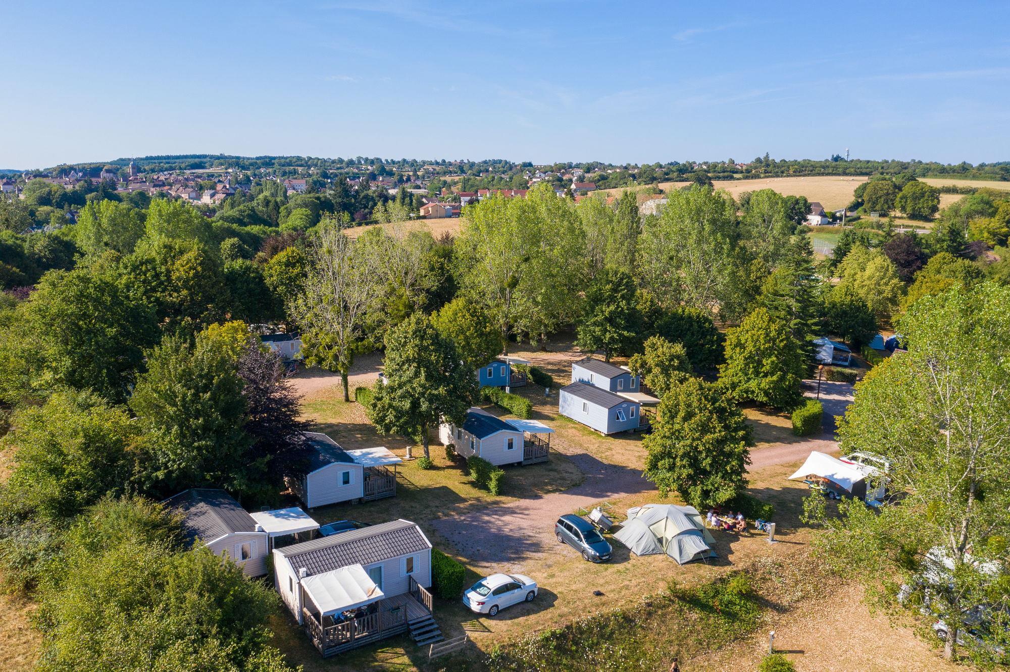 Camping de Saulieu, Saulieu, Côte-d'Or