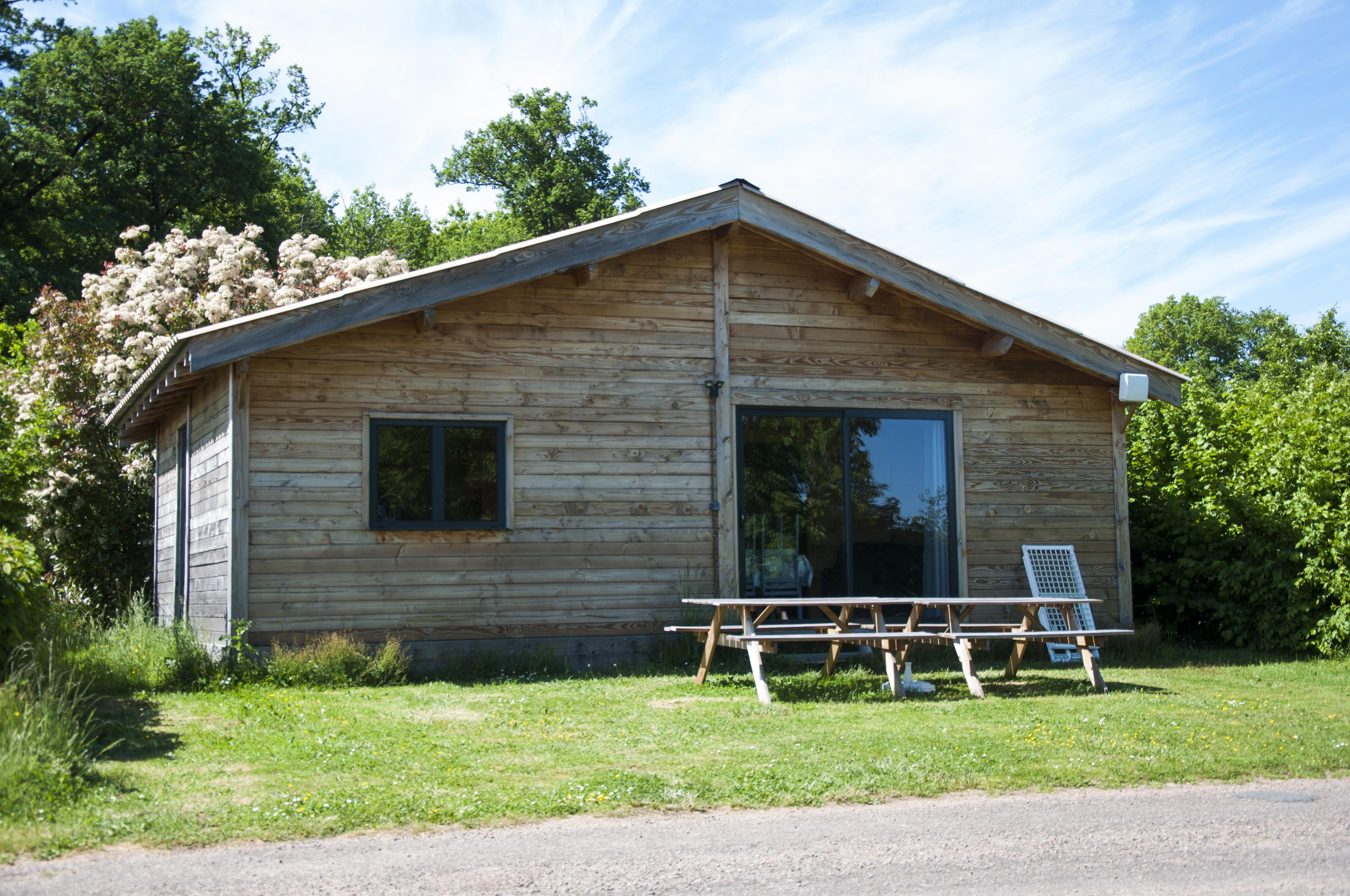 Location - Chalet 3 Chambres - Camping Des Lacs