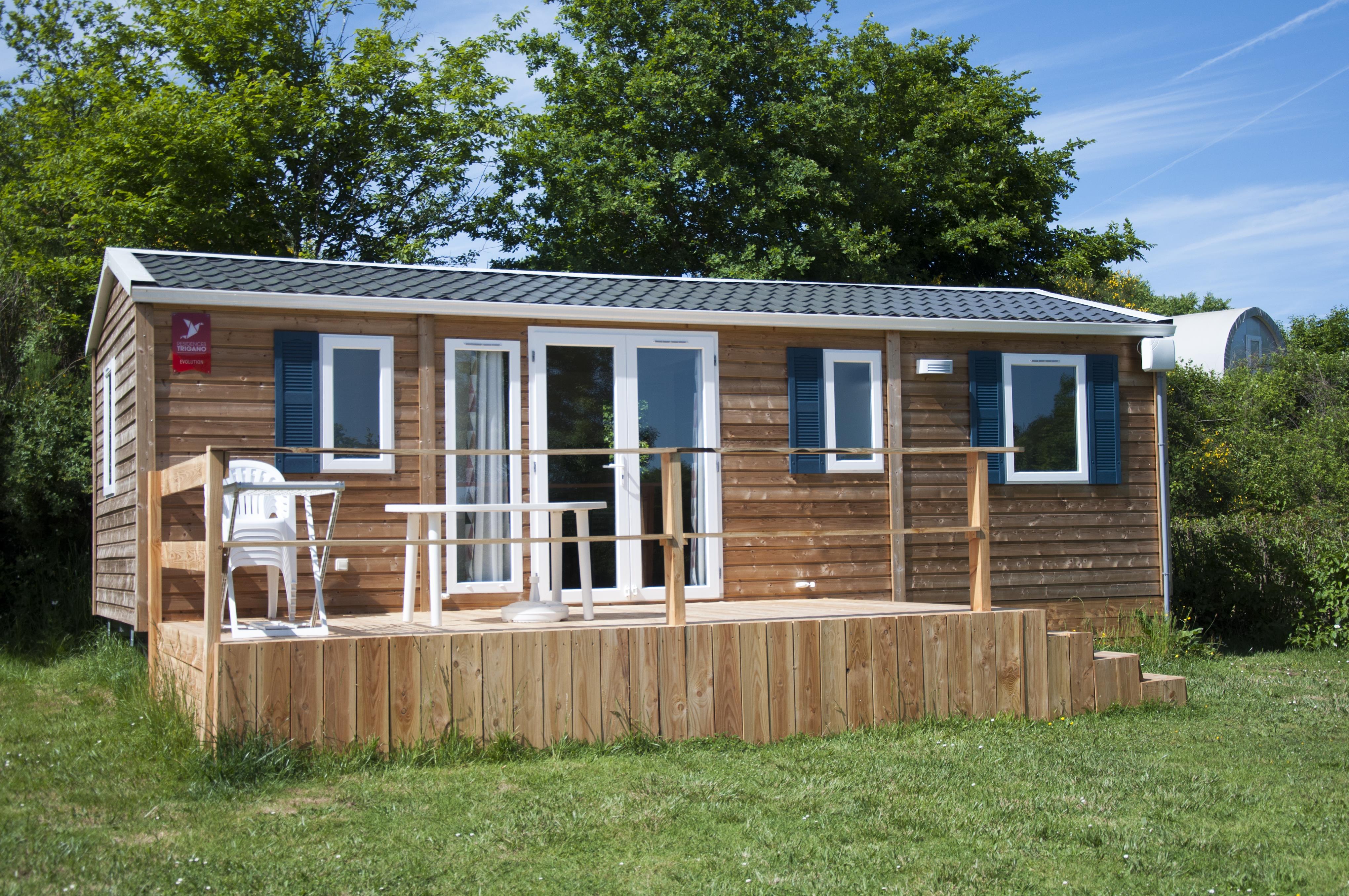 Location - Mobil-Home Limousin - Camping Des Lacs