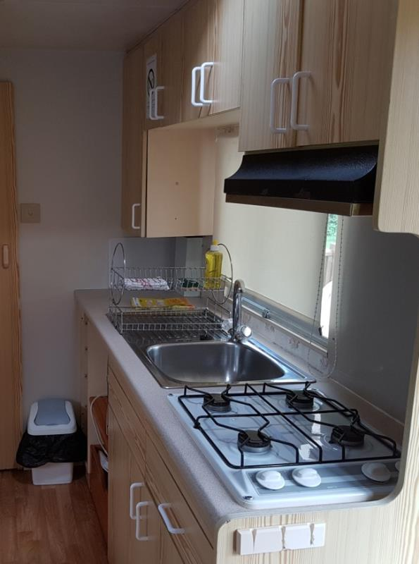 Location - Mobil Home 2 Chambres Guindon - Camping Des Lacs