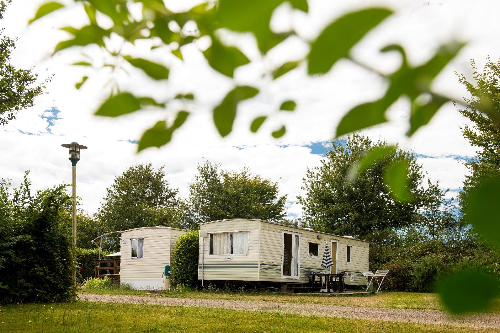Location - Mobil Home Vintage - Camping Des Lacs