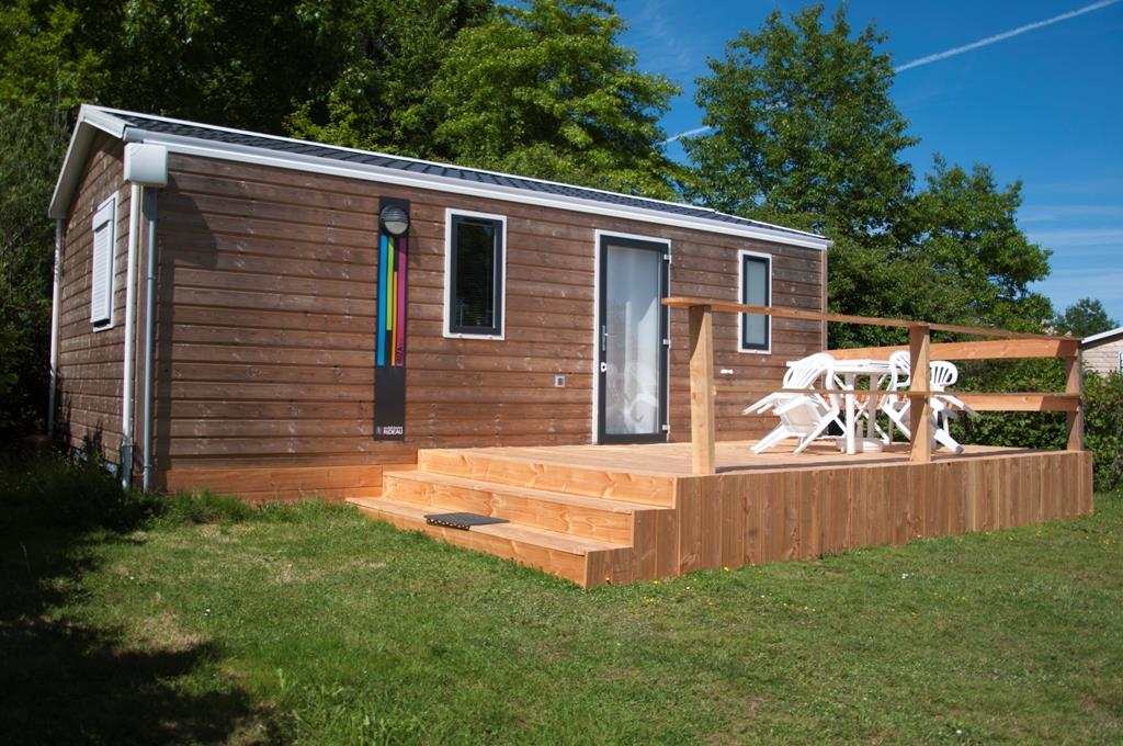 Location - Mobil Home Aquitaine - Camping Des Lacs
