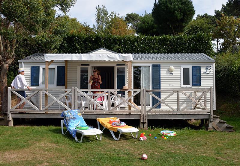 Location - Cottage Morbihan*** 7 Pers. 3 Chambres - Camping Mané Guernehué