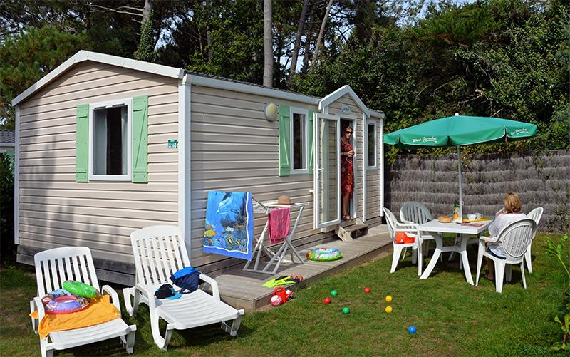 Location - Cottage Penty** 4 Pers. 2 Chambres - Camping Mané Guernehué