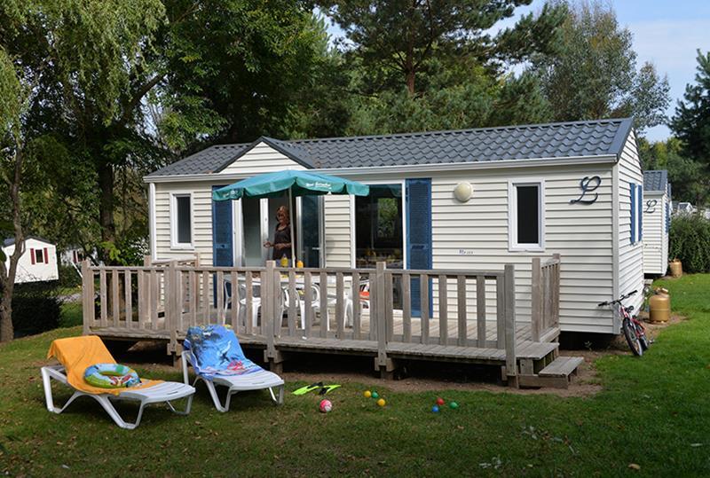 Location - Cottage Bretagne*** 5 Pers. 2 Chambres - Camping Mané Guernehué