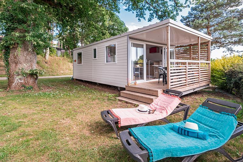 Location - Cottage Mediterranée*** 4 Pers. 2 Chambres - Camping Mané Guernehué