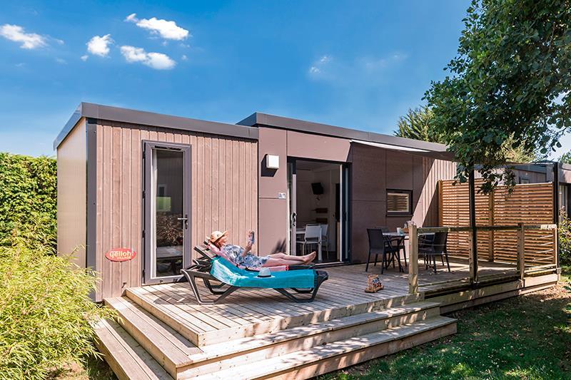 Location - Cottage Patio**** 4 Pers. 2 Chambres 2 Salles De Bain - Camping Mané Guernehué