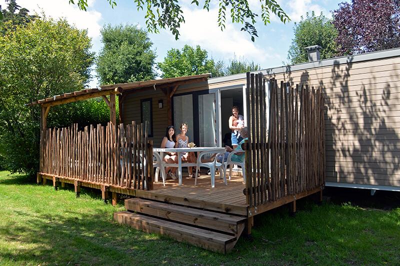 Location - Cottage Cap West**** 6 Pers. 2 Chambres - Camping Mané Guernehué
