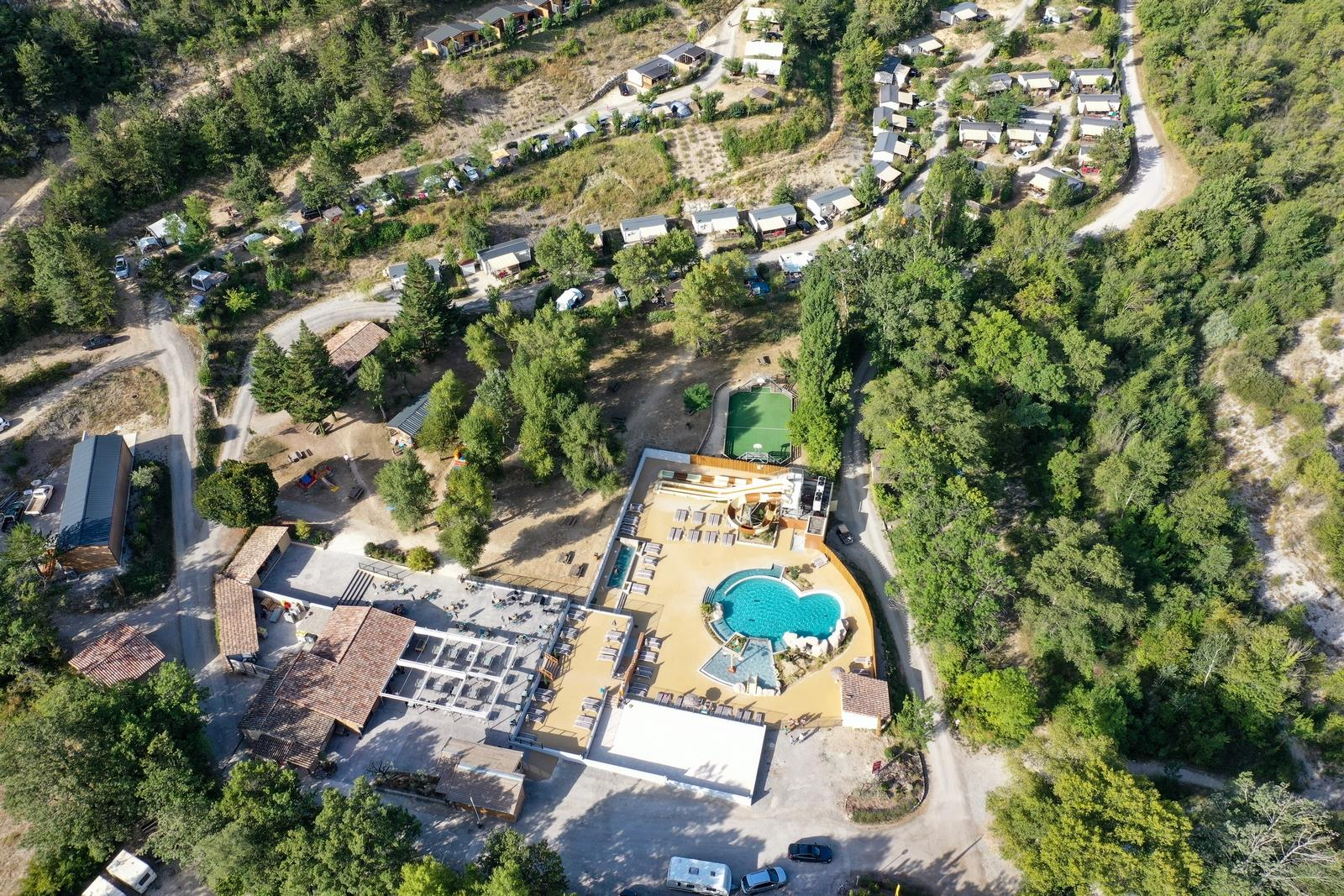 Yelloh! Village Camping les Ramieres, Sahune, Drôme