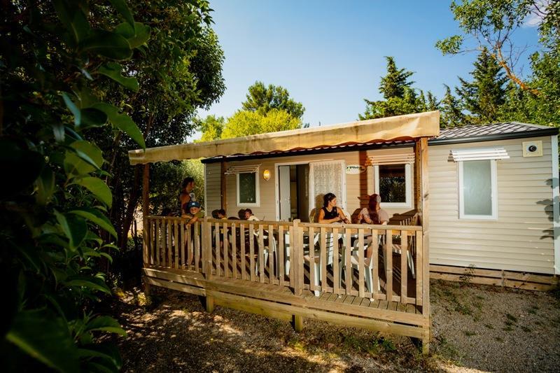 Location - Classic 29 + Tv - Camping Sites et Paysages La Pinède