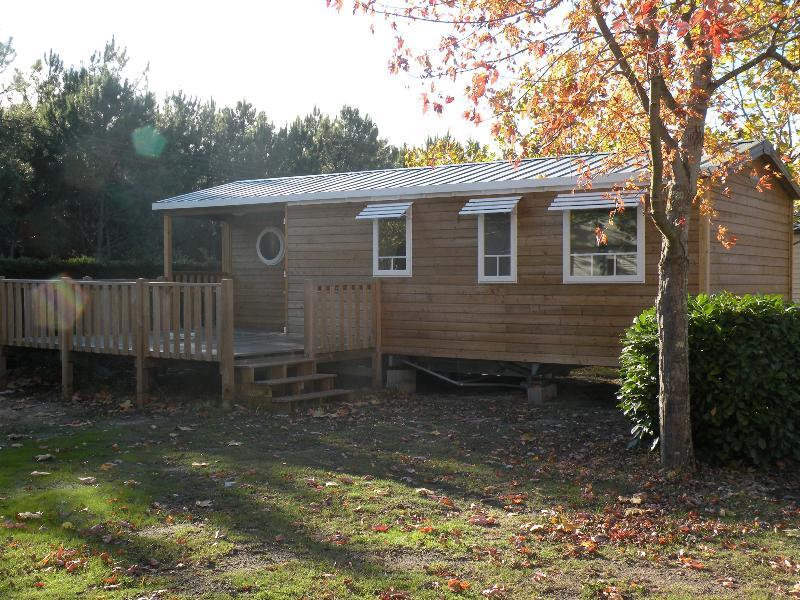 Location - Mobil Home Ciela Confort Luxe - 35M² - 3 Chambres - Climatisation Réversible , Tv Et Lave Vaisselle - Camping Resort La Rive