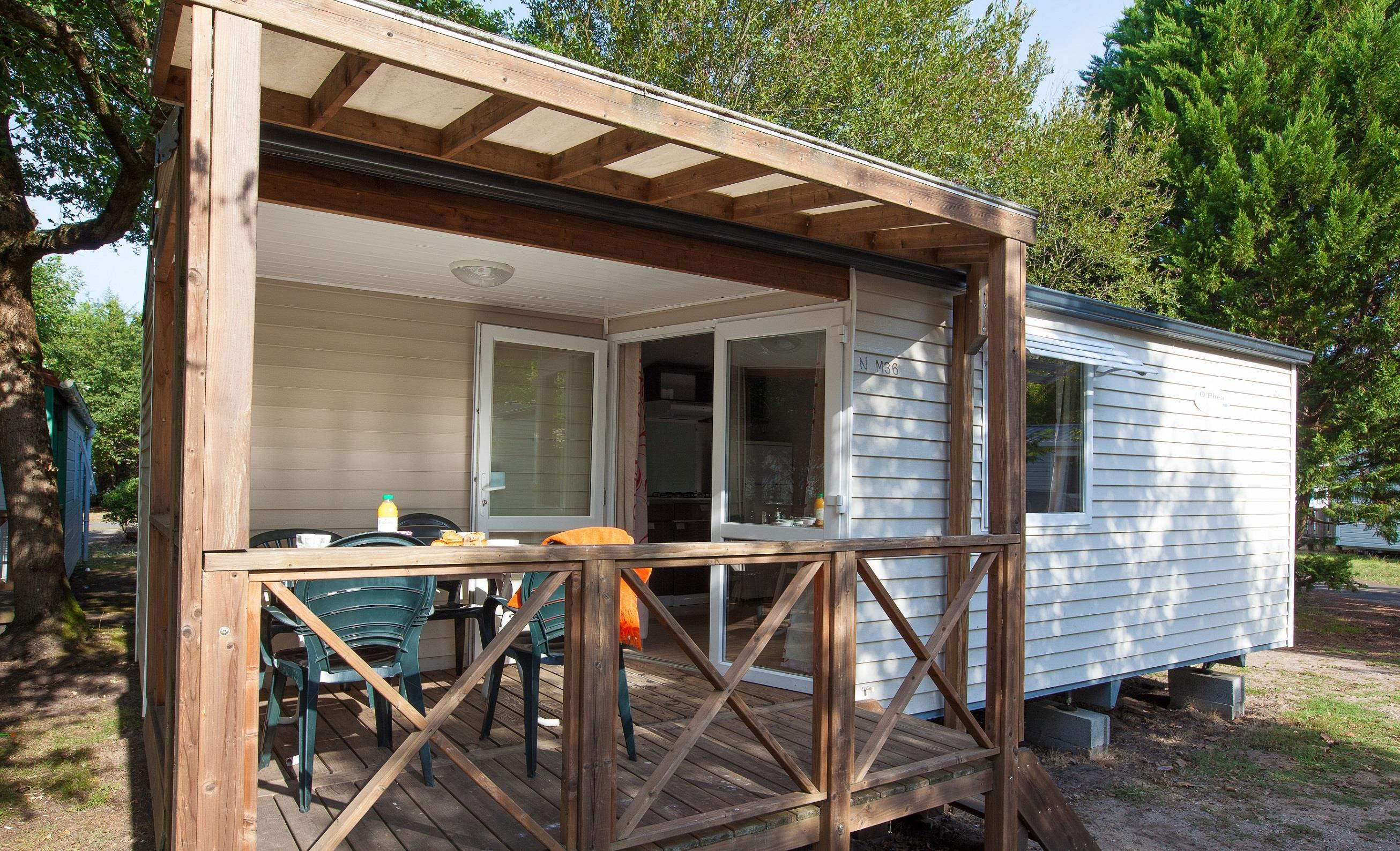 Location - Mobil Home Ciela Family - 2 Chambres - Camping Resort La Rive