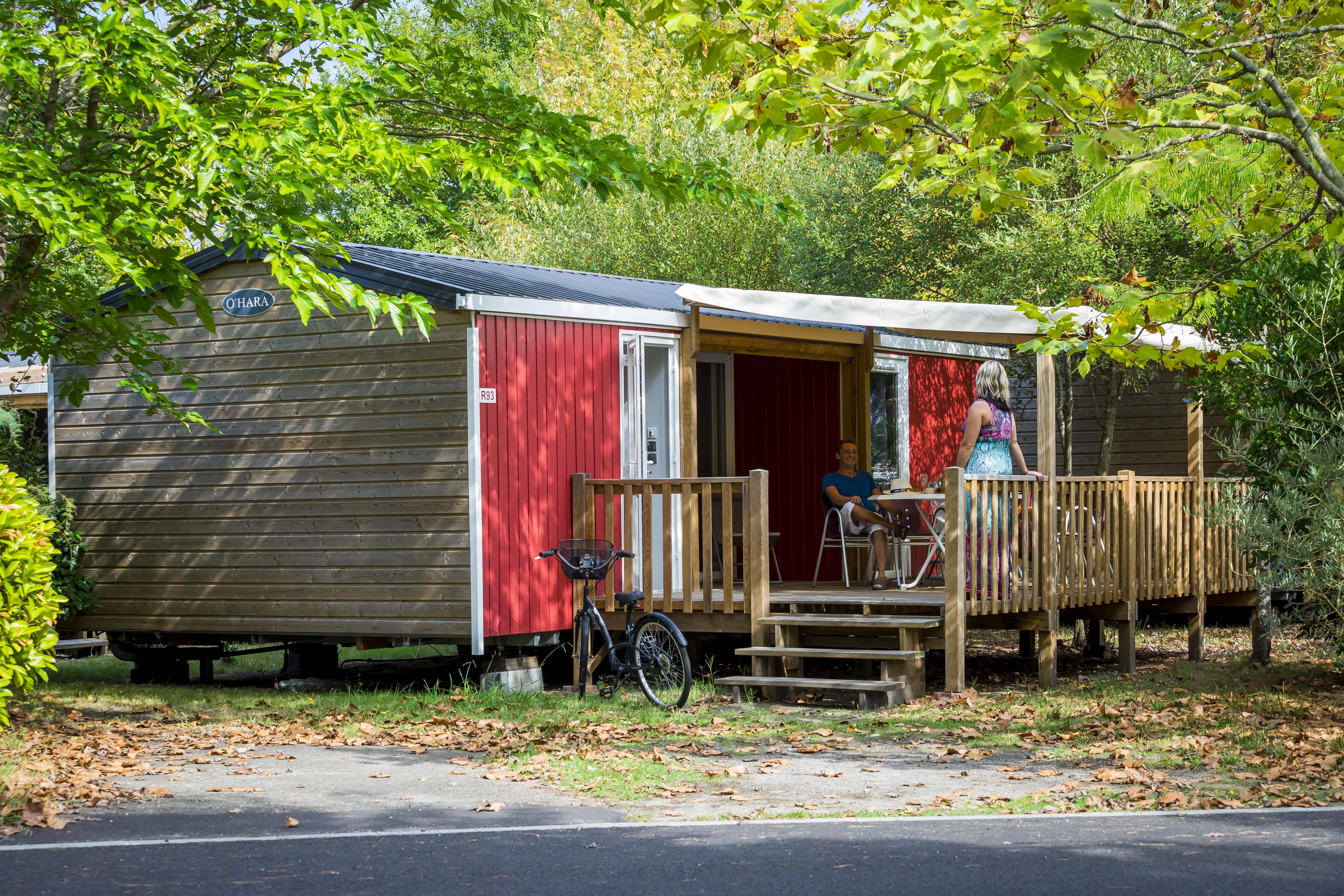 Location - Mobil Home Ciela Confort Luxe - 31M² - 2 Chambres / 2 Salles De Bain - Climatisation Réversible , Tv Et Lave Vaisselle - Camping Resort La Rive