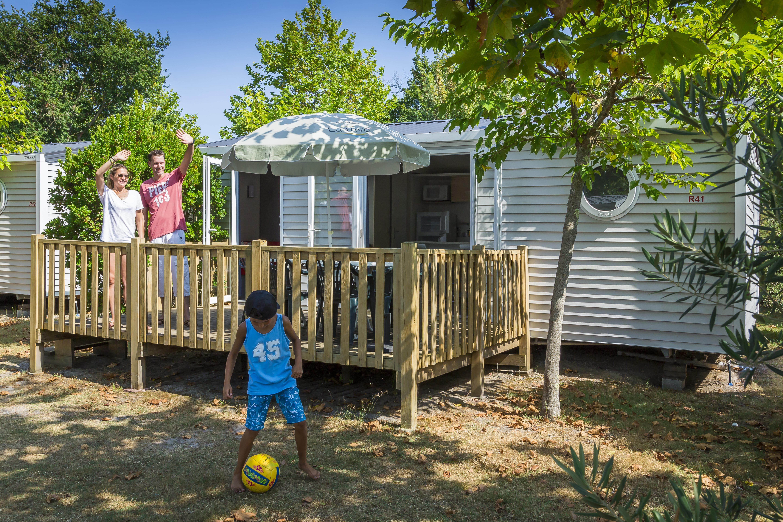 Location - Mobile Home Ciela Family Espace - 2 Chambres - Camping Resort La Rive