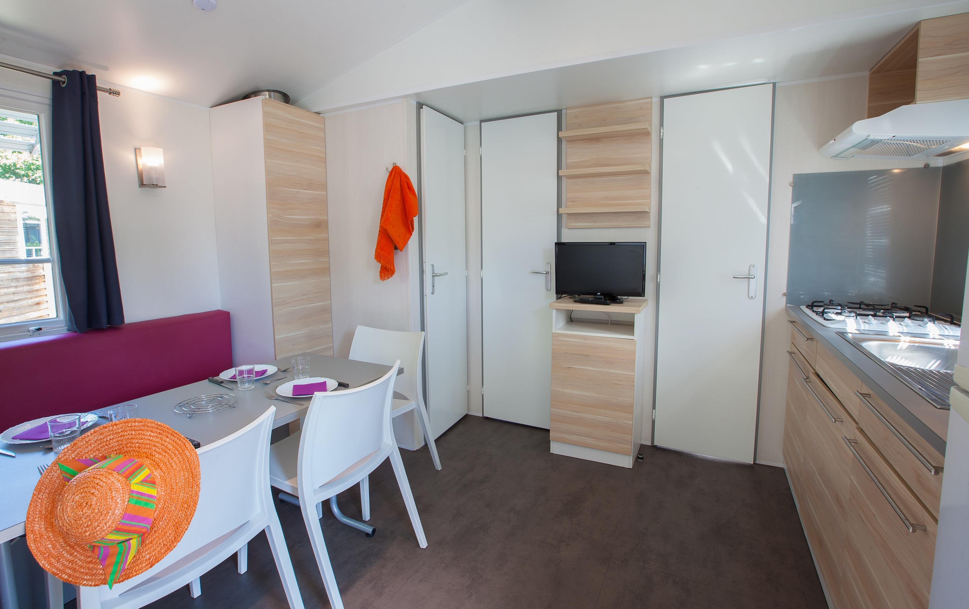 Location - Mobil Home Ciela Family - 3 Chambres - Camping Resort La Rive