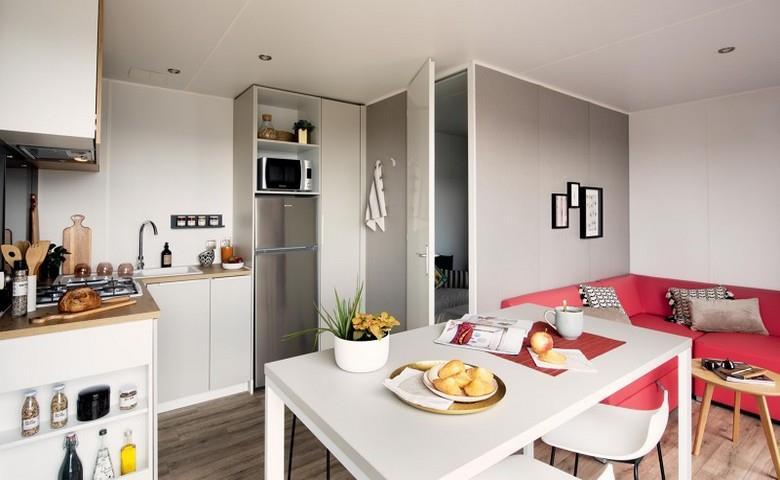 Location - Mobil Home Ciela Confort - 30M² - 2 Chambres - Climatisation Réversible Et Tv - Camping Resort La Rive