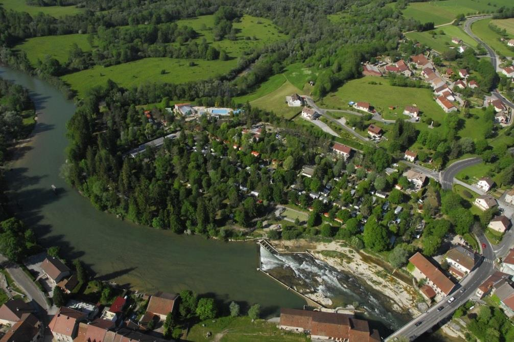 Camping le Moulin, Patornay, Jura