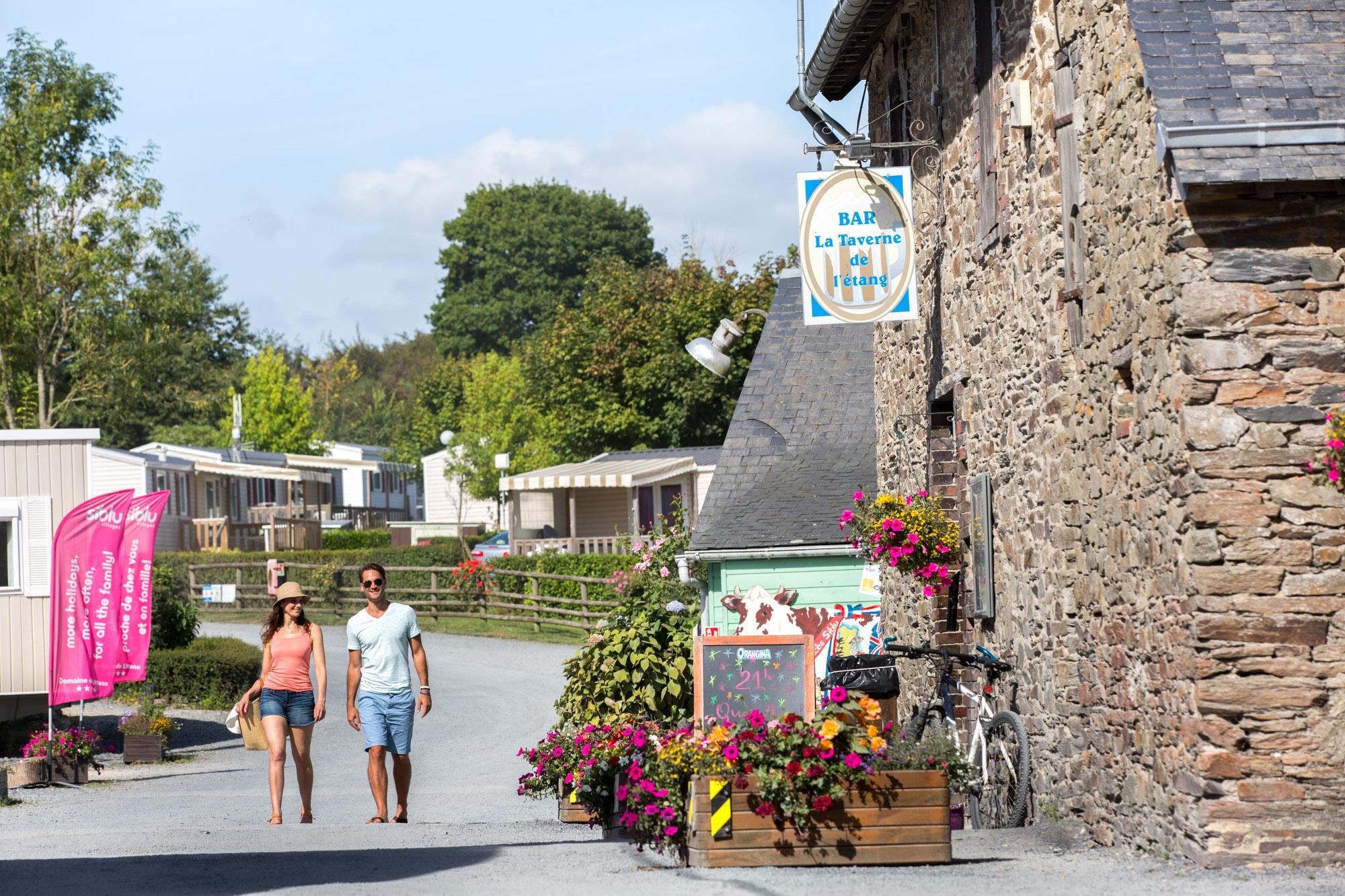 Camping Domaine de Litteau, Litteau, Calvados